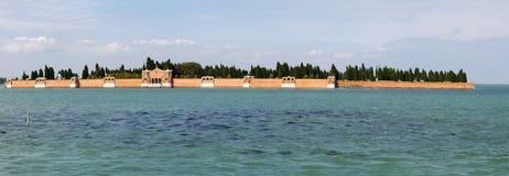 Isola San Michele, panorama. Royalty Free Stock Image