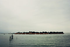 Isola San Michele. Venice Cemetery Island Stock Images