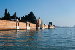 Isola San Mishele, Venice, Włochy Zdjęcie Stock