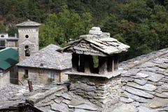 Isola Santa - The ancient medieval village. Royalty Free Stock Photos