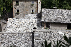 Isola Santa - The ancient medieval village. Royalty Free Stock Photo