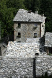 Isola Santa - The ancient medieval village. Stock Photos