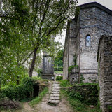 Isola Santa is a ghost village in Garfagnana, Tuscany, Italy Royalty Free Stock Images