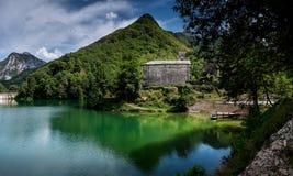 Isola Santa is a ghost village in Garfagnana, Tuscany, Italy Stock Image