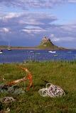 Isola santa, Northumberland Fotografie Stock Libere da Diritti