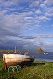 Isola santa, Northumberland Fotografia Stock