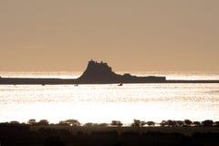 Isola santa, Northumberland Fotografie Stock