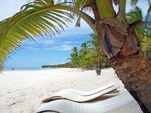 Isola Saona della Repubblica dominicana del mare caraibico Fotografia Stock