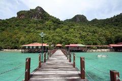 Isola Semporna Sabah Malaysia di Bohey Dulang Fotografia Stock