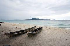 Isola Semporna Sabah Malaysia di Sibuan Immagini Stock Libere da Diritti