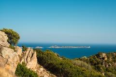 Isola Serpentara Stock Afbeelding