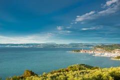 Isola, Slovenia fotografia stock
