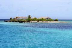 Isola sola di paradiso Fotografia Stock Libera da Diritti