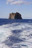 Isola Strombolicchio, Italia Fotografia Stock Libera da Diritti