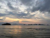 Isola sul mare Fotografia Stock