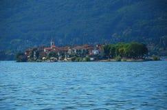 Isola Superiore dei Pescatori, lake Maggiore Stock Photography