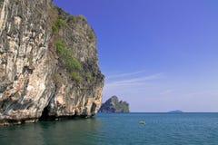 Isola tailandese, provincia di Trang, Tailandia. Immagine Stock Libera da Diritti