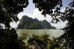 Isola in Tailandia Immagini Stock