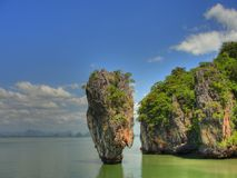 Isola Tailandia del James Bond Fotografia Stock Libera da Diritti