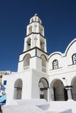 Isola tradizionale di Santorini di architettura greca Fotografia Stock Libera da Diritti