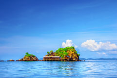 Isola tropicale Immagine Stock
