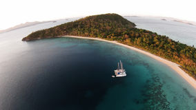Isola tropicale Fotografia Stock