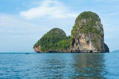Isola tropicale Immagini Stock Libere da Diritti