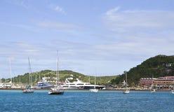 Isola tropicale della st Maarten Fotografia Stock Libera da Diritti