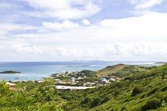 Isola tropicale della st Maarten Immagini Stock Libere da Diritti