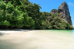 Isola tropicale di paradiso Fotografia Stock