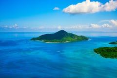 Isola tropicale di paradiso Fotografie Stock