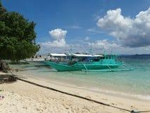 Isola tropicale di paradiso, Coron, Filippine immagini stock