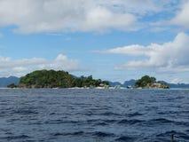 Isola tropicale di paradiso, Coron, Filippine immagine stock libera da diritti