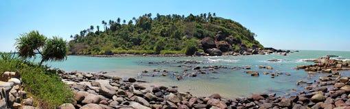 Isola tropicale in India Fotografie Stock Libere da Diritti