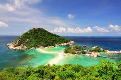 Isola tropicale, Kor Tao, Tailandia. Fotografie Stock