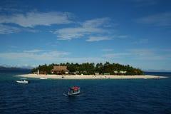 Isola tropicale nel Fiji, South Pacific fotografie stock libere da diritti