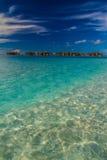 Isola tropicale perfetta, Maldive Immagine Stock Libera da Diritti