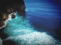 Isola Uluwatu di Bali fotografia stock