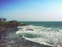 Isola Uluwatu di Bali fotografia stock libera da diritti