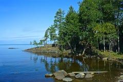 Isola Valaam Immagine Stock