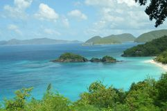 Isola vergine di St John Fotografia Stock