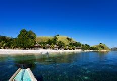 Isola vicino al Flores, Indonesia di Seraya Fotografia Stock