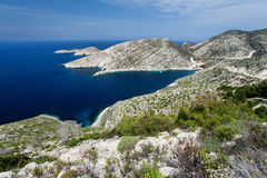 Isola Zacinto Immagini Stock