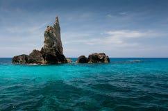 Isola Zacinto Fotografie Stock Libere da Diritti