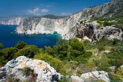 Isola Zacinto Fotografia Stock
