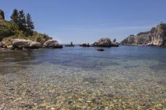 Isolabella i Sicilien, Italien Royaltyfria Foton