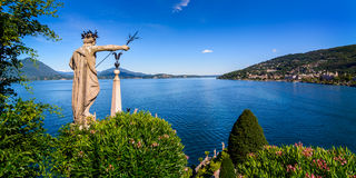 Isolabella Lake maggiore Royalty Free Stock Photos