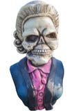 Isolado da estátua do fantasma do pirata no fundo branco Fotos de Stock Royalty Free