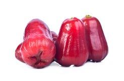 Isolado das maçãs de Rosa com fundo branco Fotografia de Stock Royalty Free