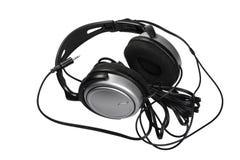 isolado do fones de ouvido no fundo branco Fotografia de Stock